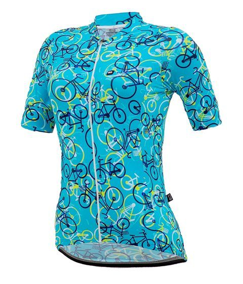 Camisa feminina Fanny Bikes Light Blue Marcio May