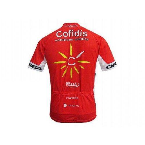 Camisa masculina ciclismo Cofidis Multi Sports