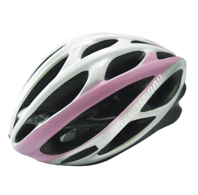Capacete Ciclismo Limar Speed Carbon 969 Rosa-Branco