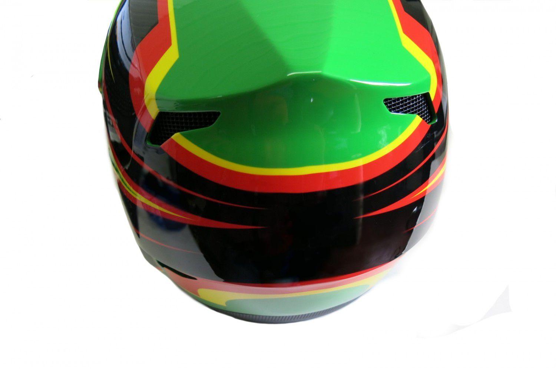 Capacete HUPI DH-2 Bmx/Downhill verde