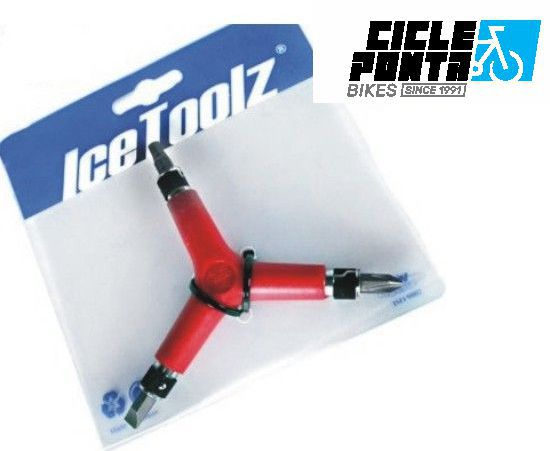 CHAVE ALLEN TIPO Y 3 4 5 - ICE TOOLZ 6mm