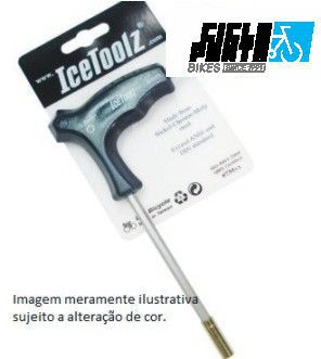 CHAVE DE RAIO P/ NIPLES 5,5mm + CHAVE ALLEN 5mm - ICE TOOLZ