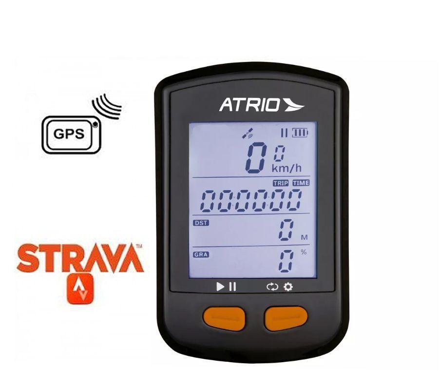CICLOCOMPUTADOR - GPS STEEL BLUETOOTH COM SENSOR DE CADÊNCIA ATRIO - BI132