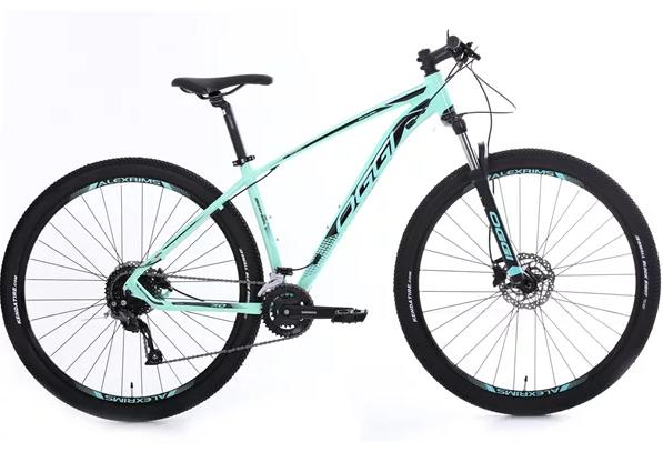 """Bicicleta 29"""" Oggi 7.0 Big Wheel verde claro- 18V - 2020"""
