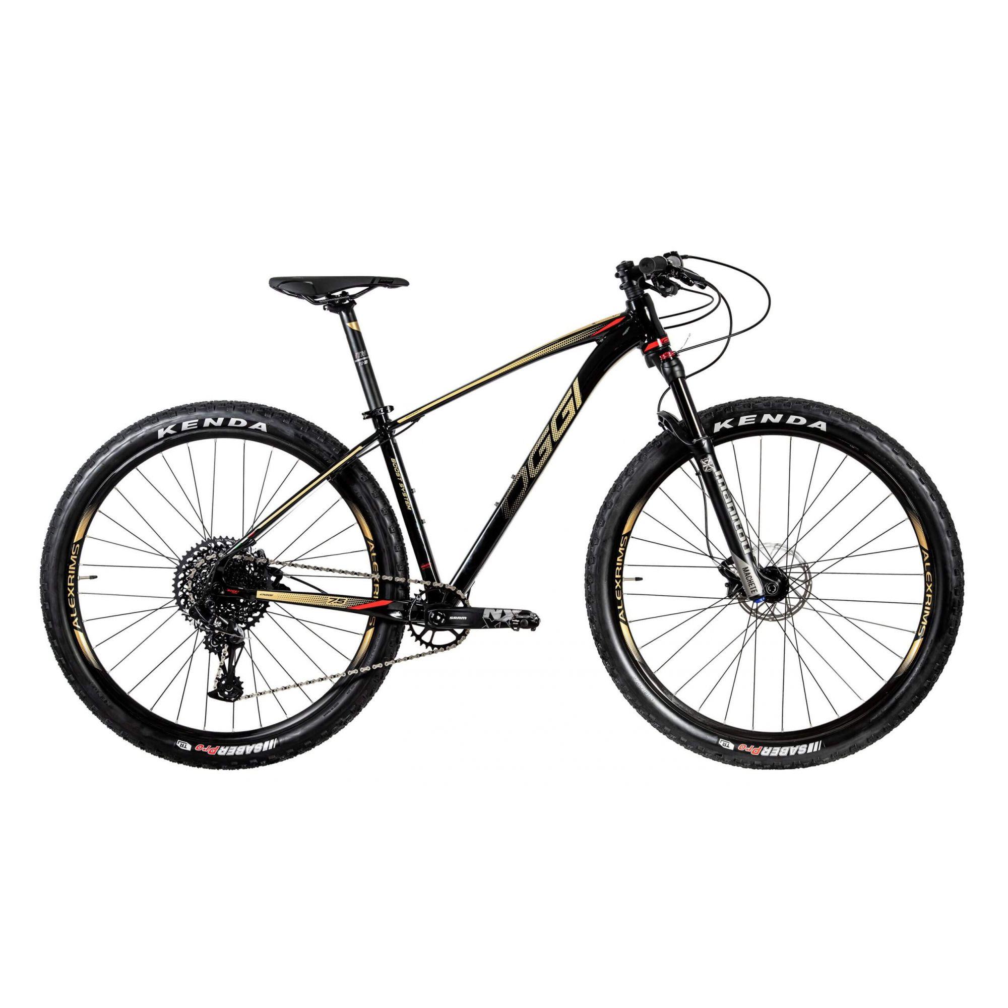 Bicicleta 29'' OGGI Big Wheel 7.5 2020 Preta/Amarelo