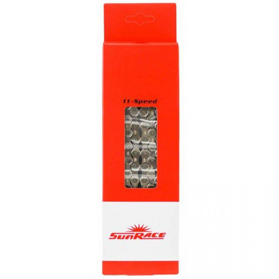 Corrente Sun Race 11 velocidades- 126 Elos para cog maior.