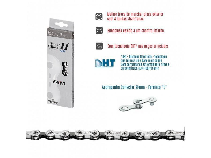 Corrente Taya ONZE-111 HT cromada 11v