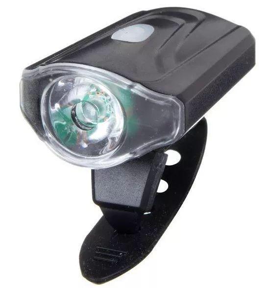 FAROL LED DIANTEIRO ABSOLUTE - RECARREGÁVEL USB