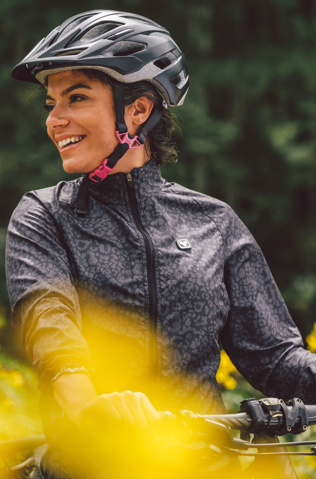 Jaqueta de Ciclismo Feminina Sport Corta Vento Lince Free Force