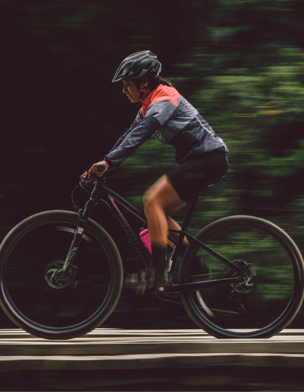 Jaqueta de Ciclismo Feminina Sport Corta Vento Mix Free Force