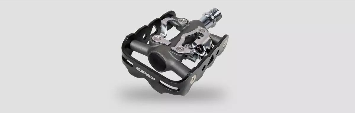 Kit Sapatilha Spiuk rocca mais pedal clip