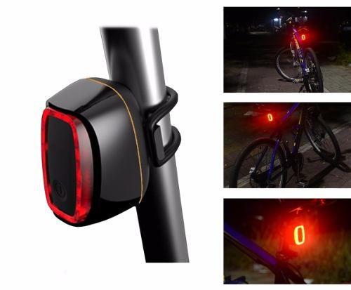 SINALIZADOR TRASEIRO LED INTELIGENTE - RECARREGÁVEL USB