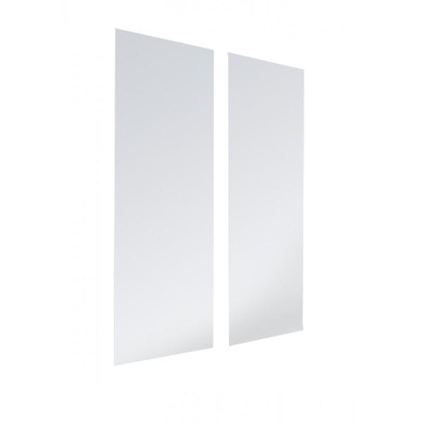 Duas Portas de Vidro para o produto Estante Porta CD/DVD/Blu-ray