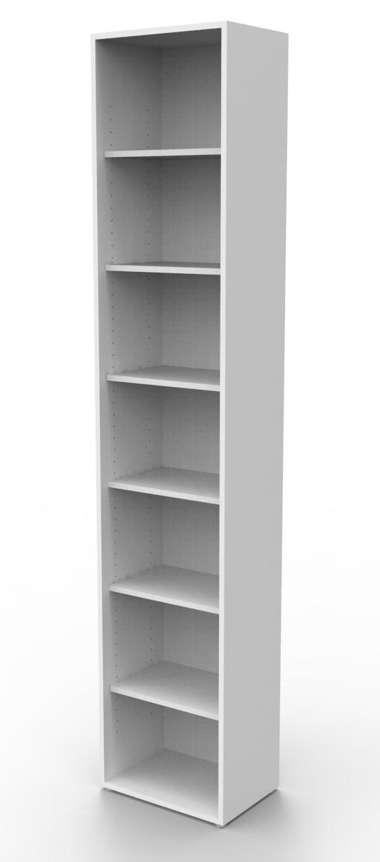 Estante biblioteca para livros 2010x410x280 mm bookcase branca