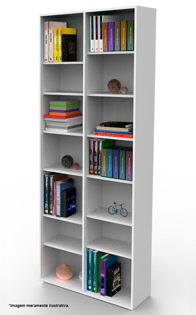 Estante biblioteca para livros 2010x805x280 mm bookcase tabaco