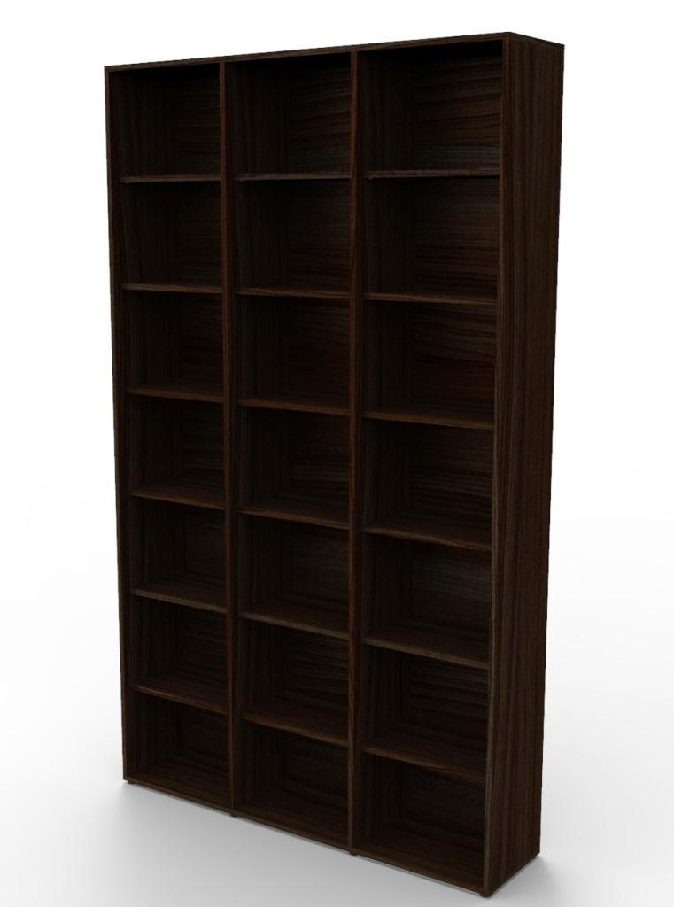 Estante biblioteca para livros 2010x1200x280 mm bookcase tabaco