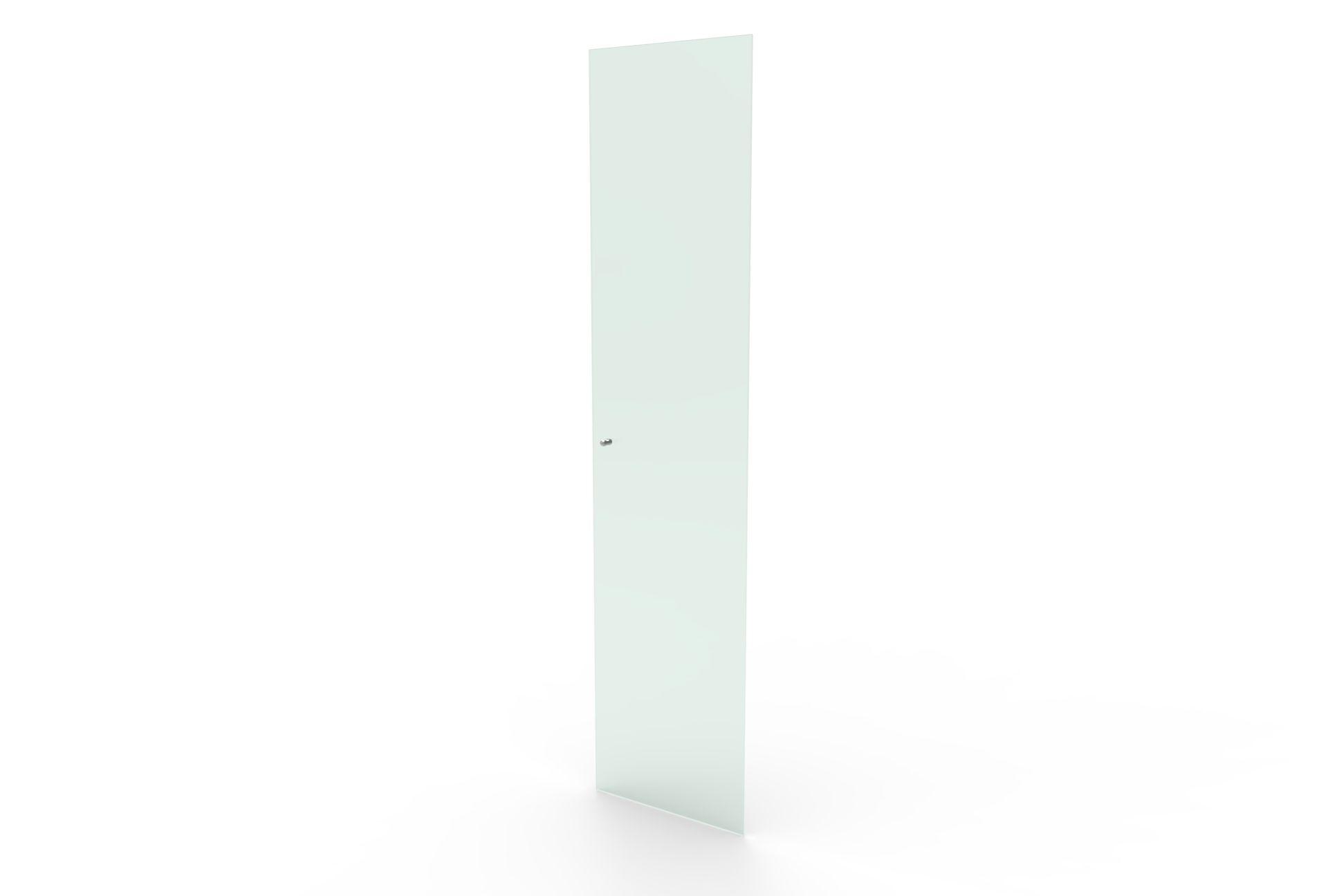 Estante VINIL/LIVROS/MULTI 450 Vinis Tabaco com porta de vidro incolor sem chave