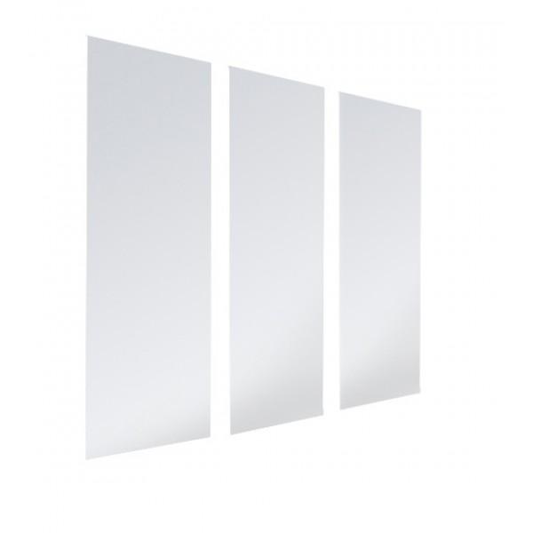 Três Portas de Vidro para o produto Estante Porta CD/DVD/Blu-ray