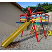 Playground de Madeira Multibrinquedo