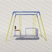 Playground Adaptado Cadeirante Balanço Frontal