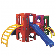 Playground de Plástico Double Kids Max