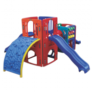 Playground de Plástico Double Max Mix