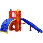 Playground de Plástico Play Mount Curved Triangular