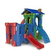 Playground de Plástico Torre do Castelo + Castelo Petit