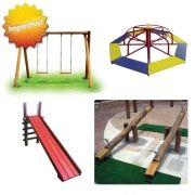 Promoção Playground de Madeira com Gira Gira