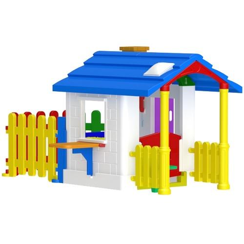 Casinha Infantil de Campo com Cerquinha