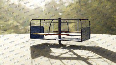 Playground Adaptado Cadeirante Gira Gira
