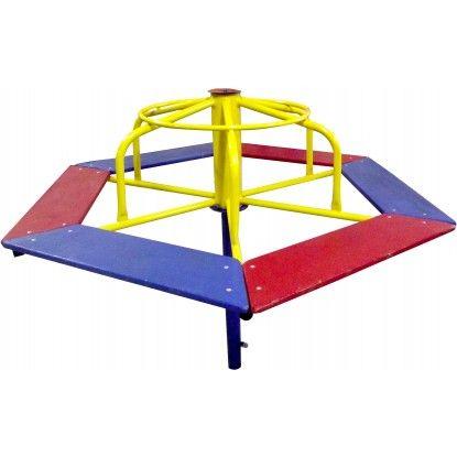 Playground de Ferro Gira Gira 6 Lugares
