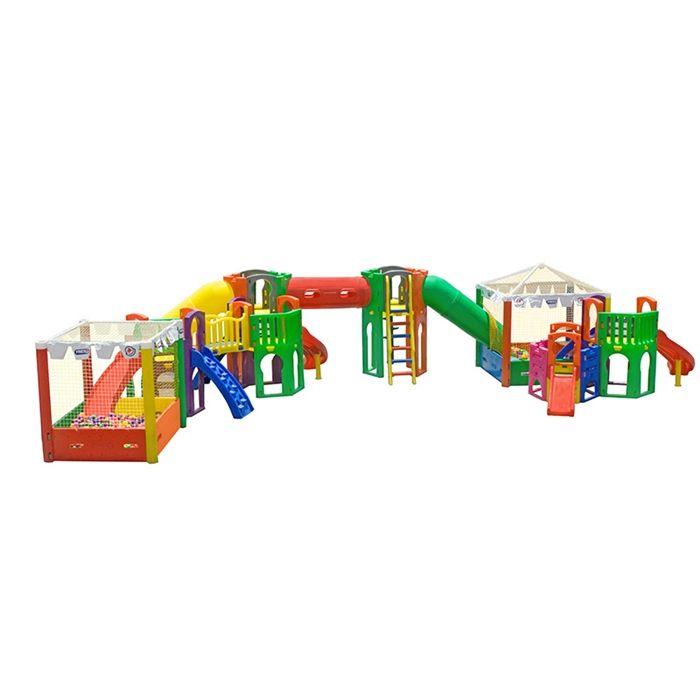 Playground de Plástico Atlantis