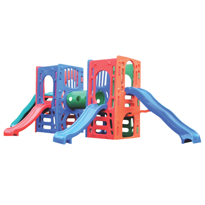 Playground de Plástico Double Kids