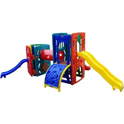 Playground de Plástico Double Mix Triangular