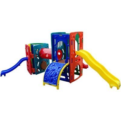Playground de Plástico Double Mix Triangular