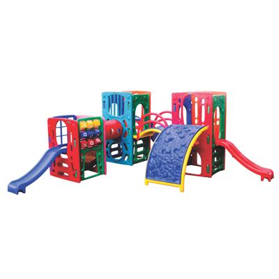 Playground de Plástico Quadri Mix Pass