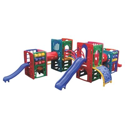 Playground de Plástico Quadri Mix Pass Z