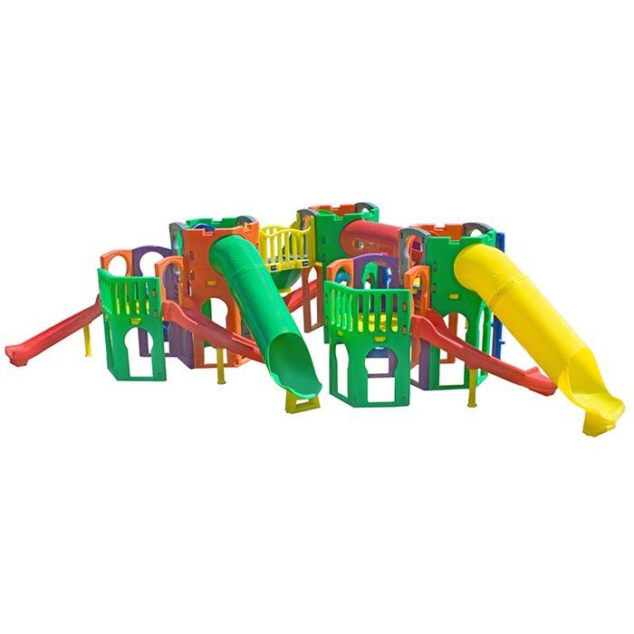 Playground de Plástico Skylab