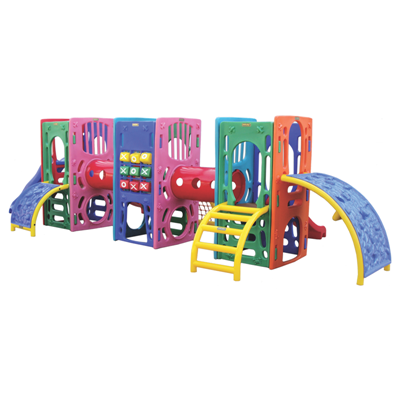 Playground de Plástico Three Kids Plus