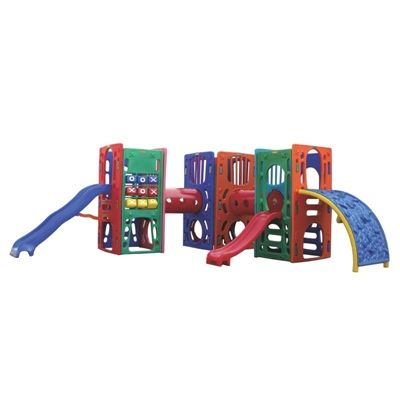 Playground de Plástico Three Kids Plus L