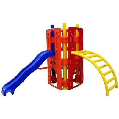 Playground de Plástico Play Kids Luxo Plus Triangular III