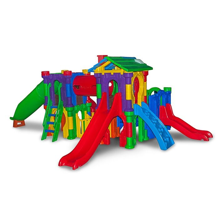 Playground de Plástico Vila Medieval
