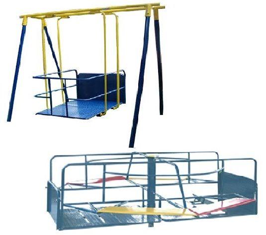 Promoçao 4 - Playground Adaptado Cadeirante 2 Brinquedos