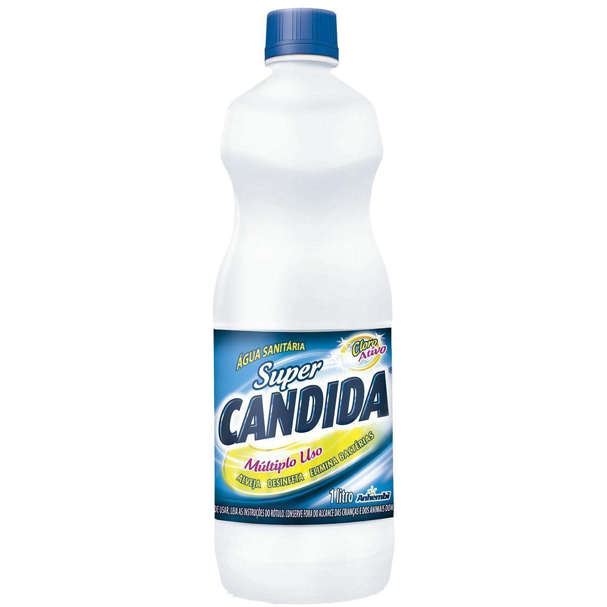 Água Sanitária Super Candida 1 Litro