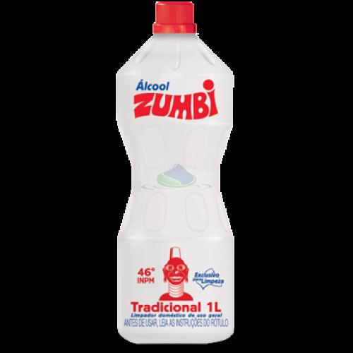 Álcool 46° Zumbi 1 Litro