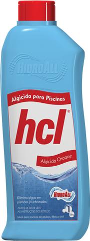 Algicida Choque Hidroall 1 Litro