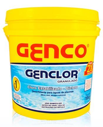 Cloro Granulado Genclor Genco 10 Kg