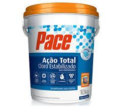 Cloro Granulado para Piscina HTH 10 Kg - Estabilizado 7 em 1 Pace