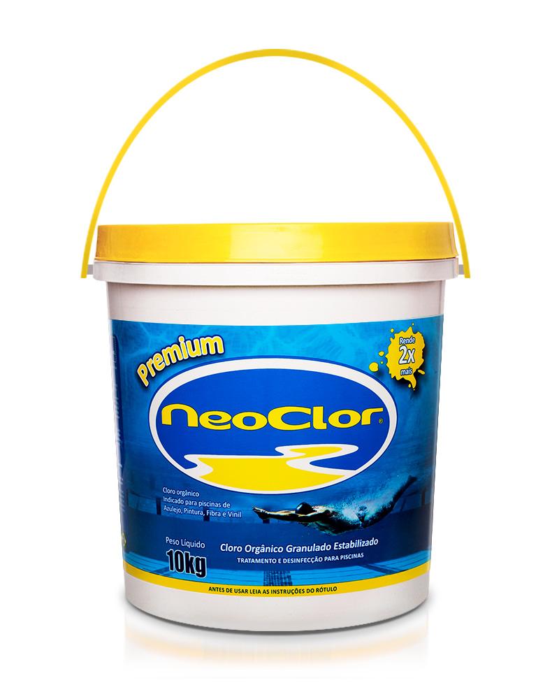 Cloro Granulado Estabilizado Neoclor 10 Kg